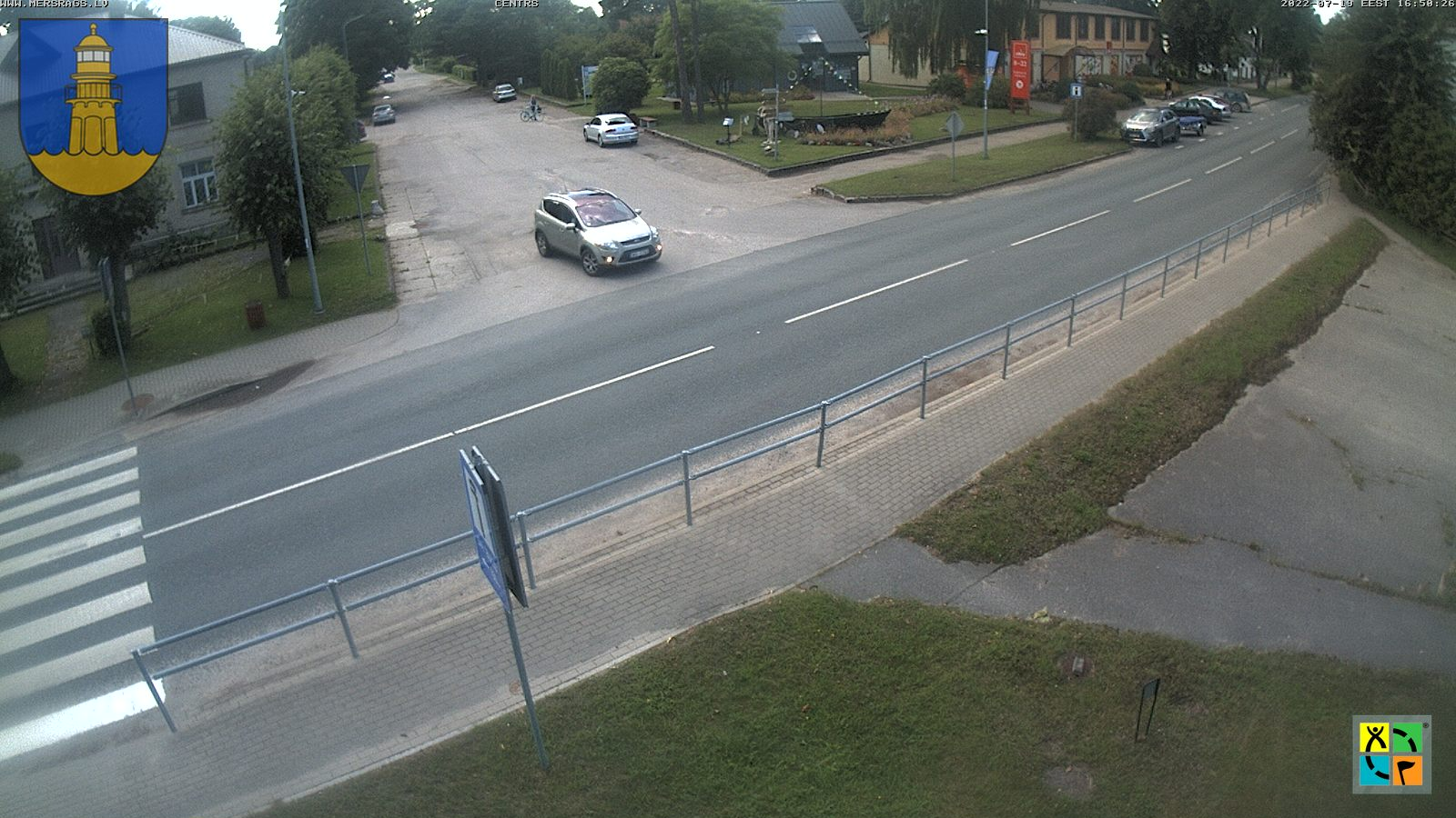 Mērsraga live webcam view